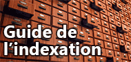 Guide de l'indexation